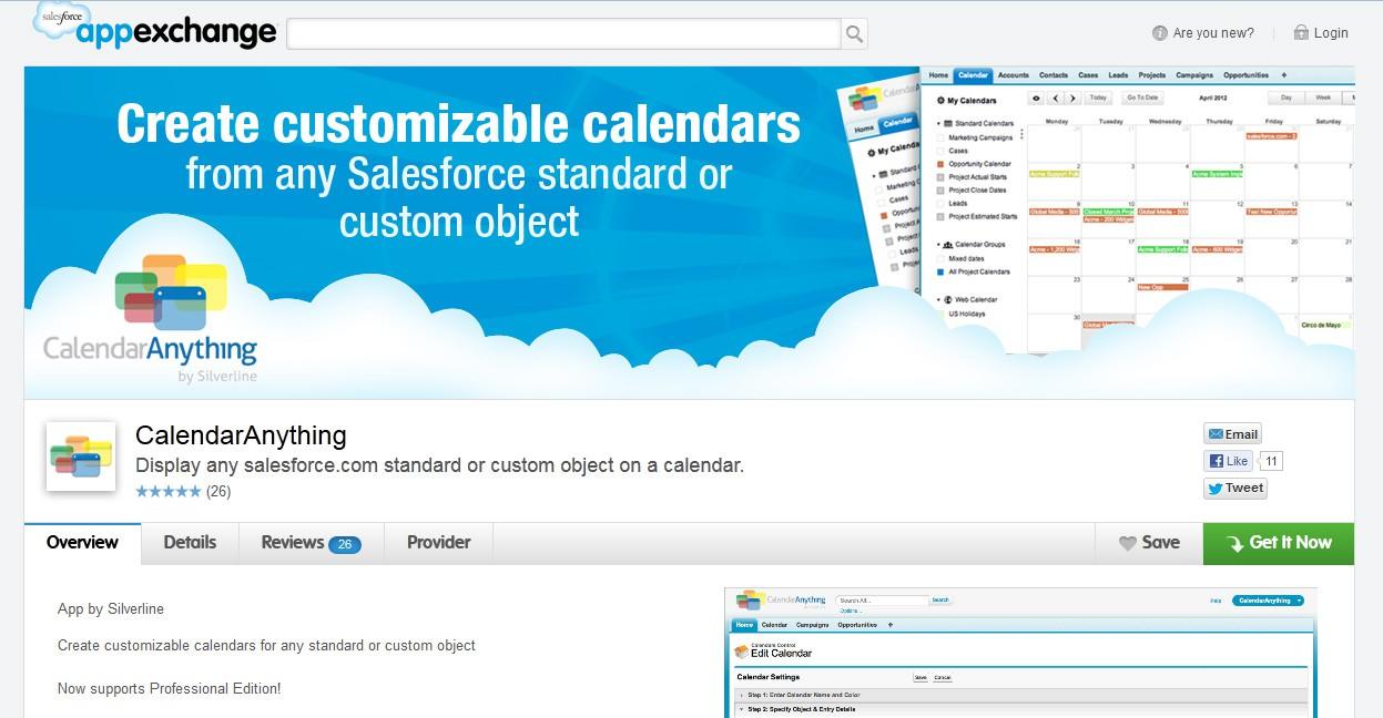 Banner for Silverline's CalendarAnything Application