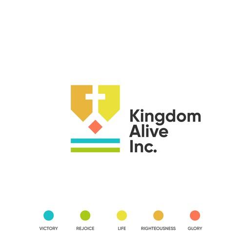 Minimalistic logo design for a religious startup
