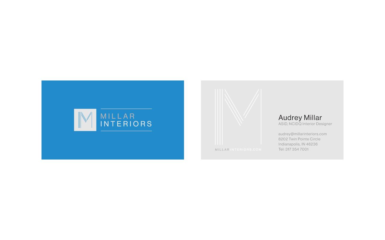 Create an elegant, modern logo for our interior design firm