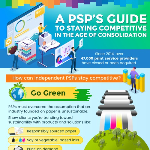 "Infographic ""A PSP's Guide to staying competitive"""