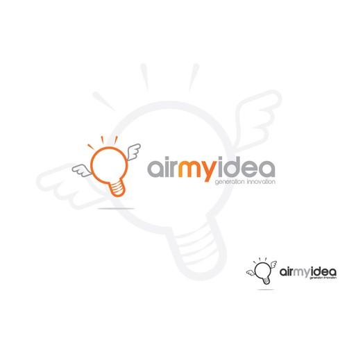 Help new online startup airmyidea create a fresh new logo