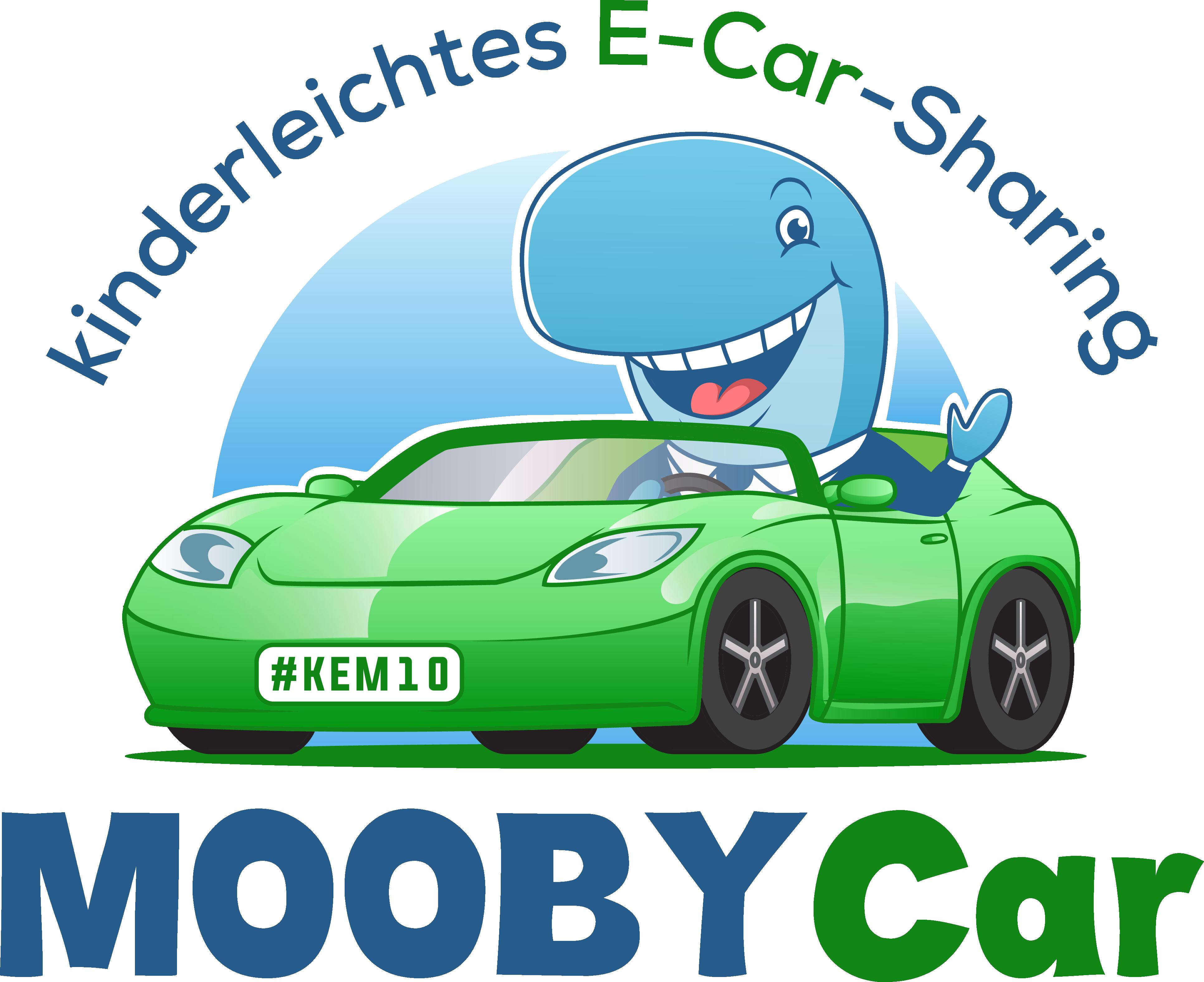 "Logo für E-Car Sharing Plattform - ""MOOBYCAR"""
