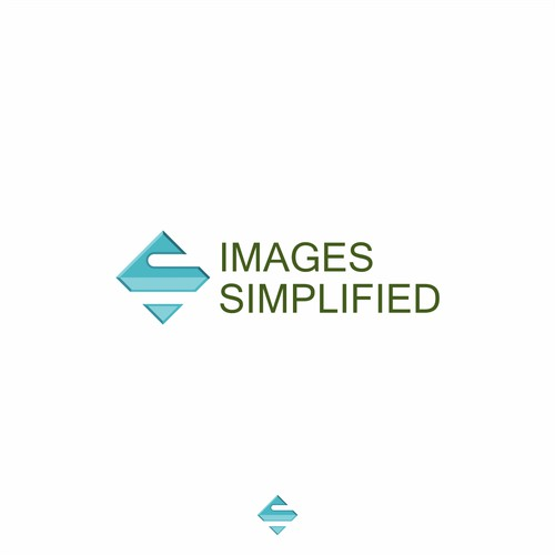 Images Simplified needs a neat, modern logo.