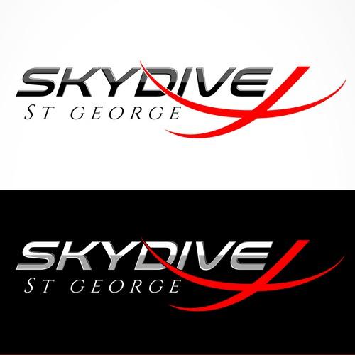 Skydive St George Logo