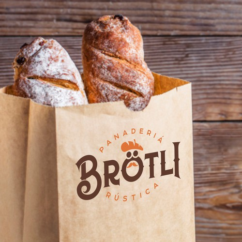 Logo for a European style bakery in Mexico