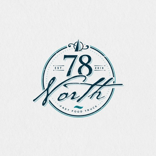 Logo design for 78 North