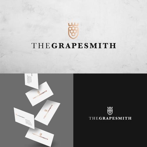 Logo CI Konzept für The Grapesmith