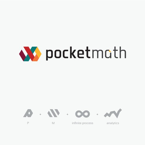 pocketmath logo (unused)