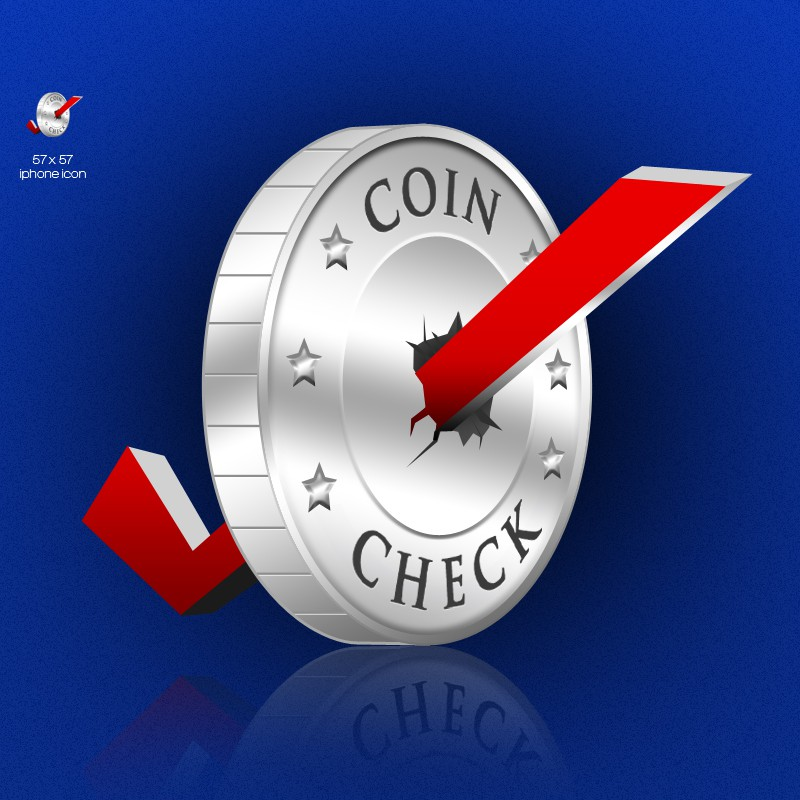 New icon or button design wanted for Coin Check, LLC