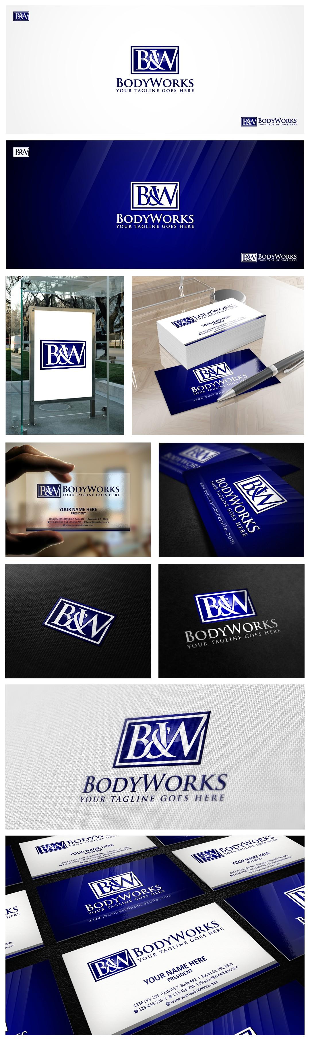 Help B & W Bodyworks with a new logo