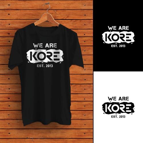 T-shirt design for KORE