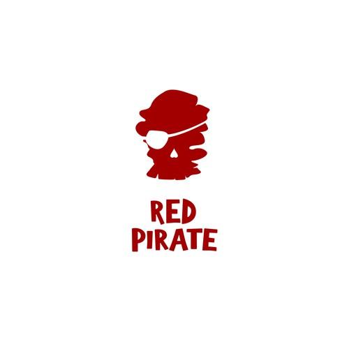 Red Pirate logo proposal