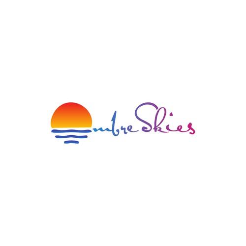 Design Logo Ombre Skiest