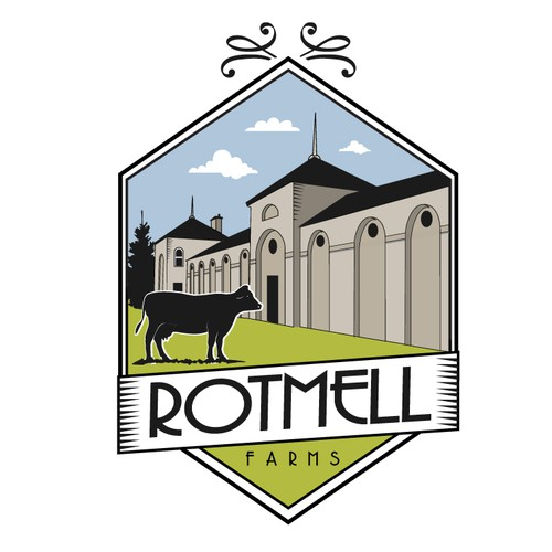 Rotmell farms logo