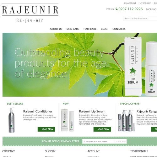 rajeunir.co.uk Web Site
