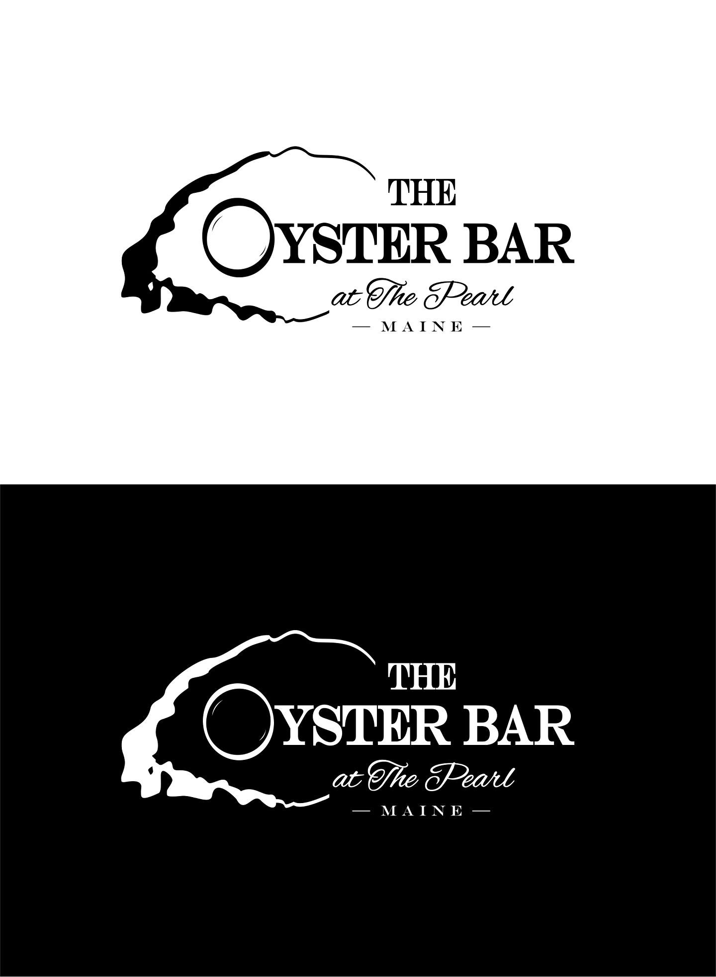 Rebrand a new Oyster bar within a historic seafood restaurant