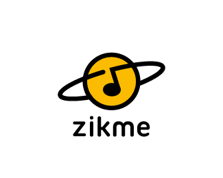 Create a logo for a free universal music database online : ZikMe