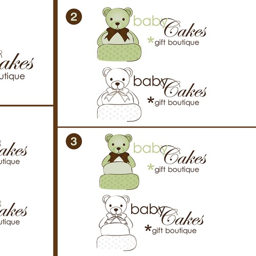 illustration for BabyCakes gift boutique