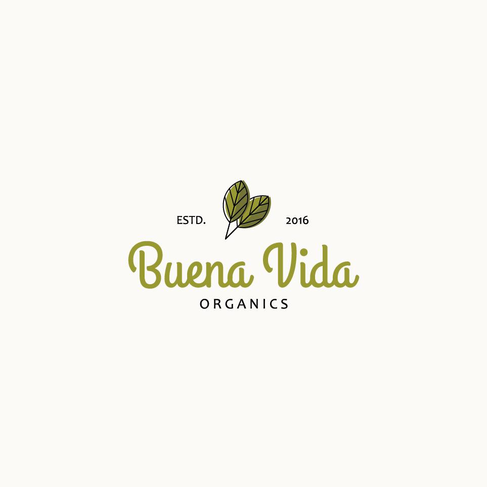 Create a fun, earthy, branding package for Buena Vida Organics
