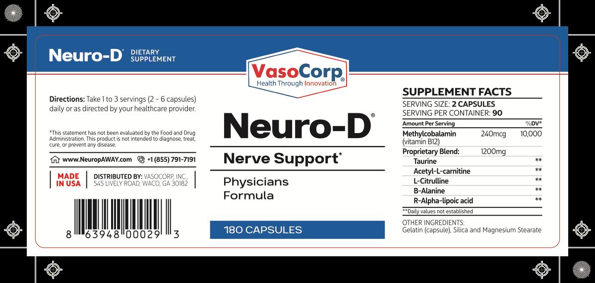 NeuropAWAY - Doctor's Office Label