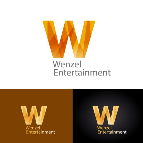 logo concept for entertainment firm