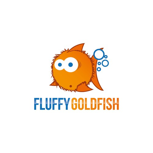 Fluffy Goldfish - a brand new Australian software development company needs a VERY funky logo