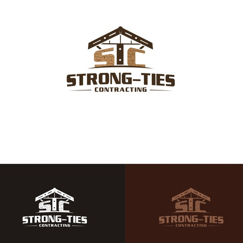 logo and website for a small contracting company