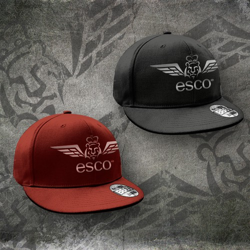Create the next logo design for Esco Clothing Co.