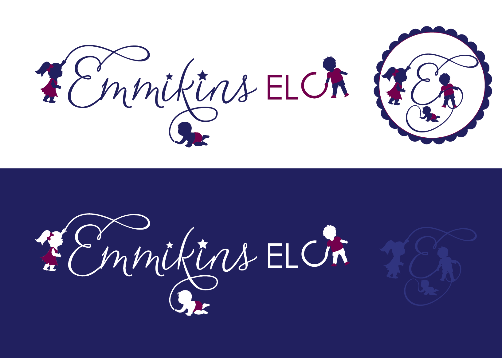 Create the next logo for Emmikins ELC