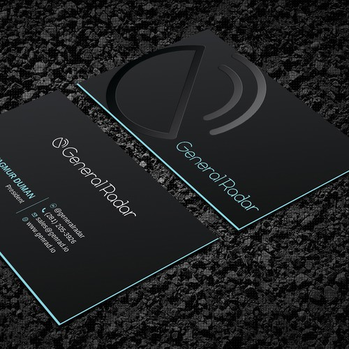 Spot Vernish business card