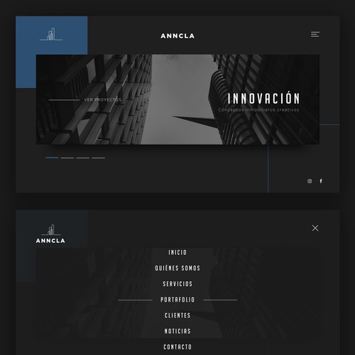 Elegant Website for Arquitects