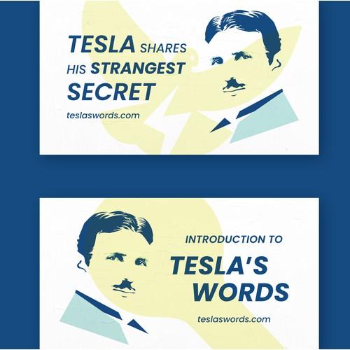 Tesla's Words | YouTube Thumbnails