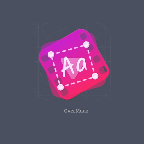 Mac OS icon for OverMark