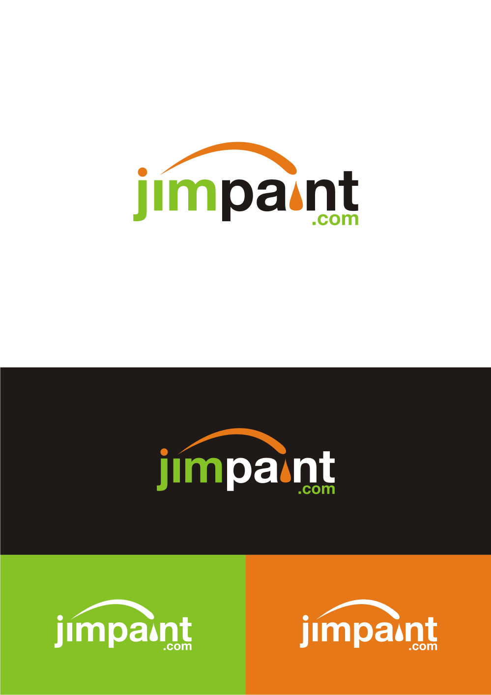 logo for jimpaint.com