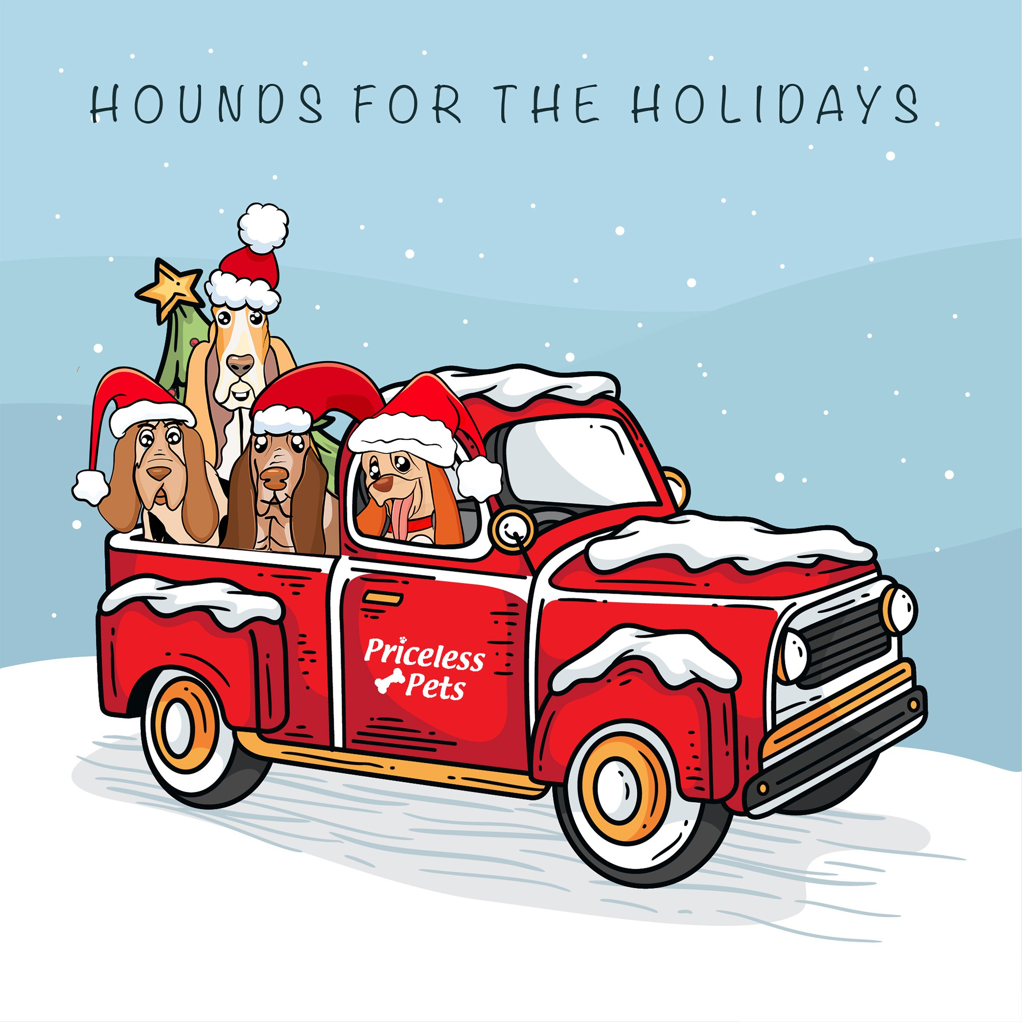 Hounds for the holidays