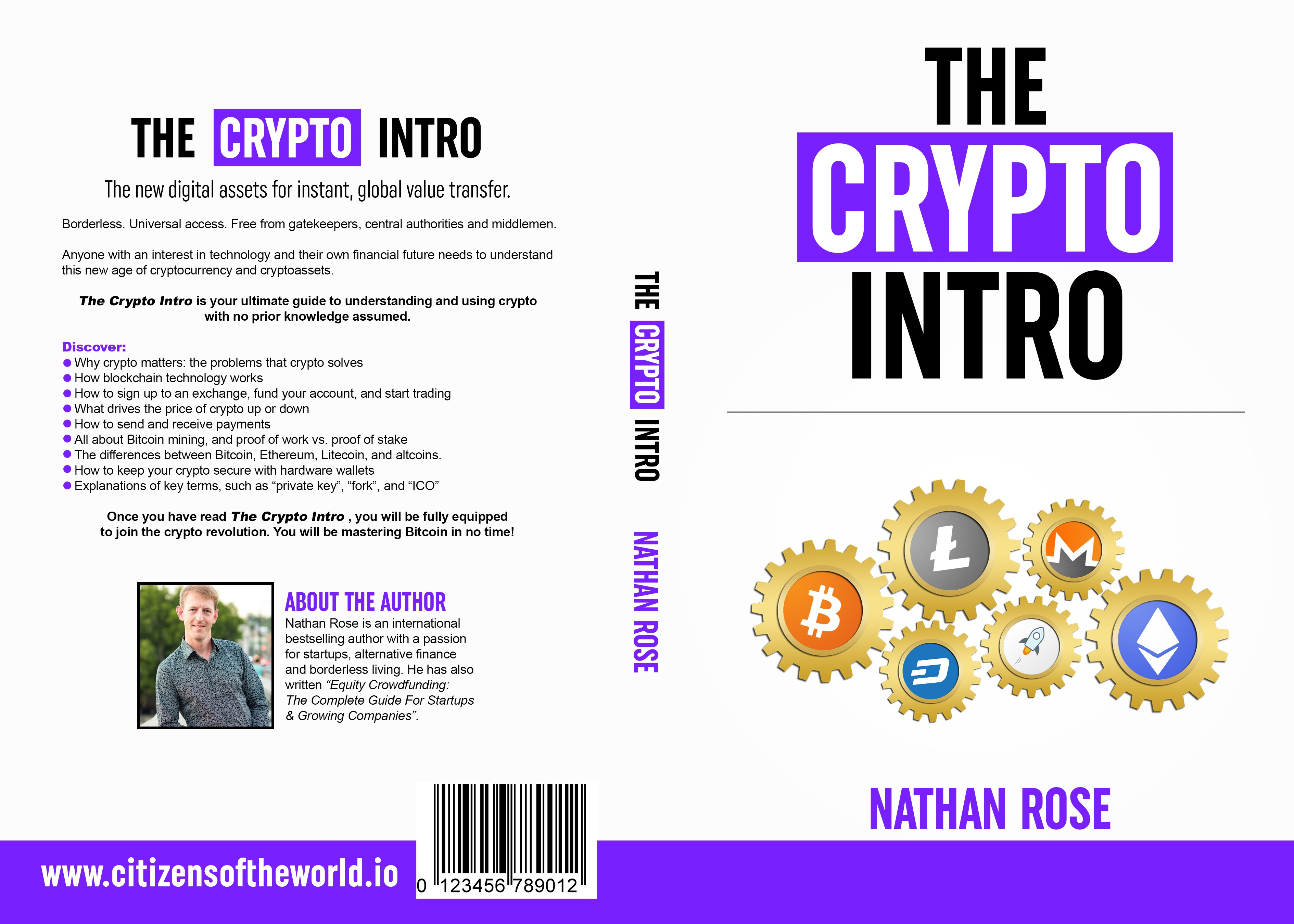 Cryptocurrency Book Cover