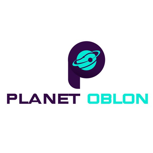 Logo design is for a new business with the name Planet Oblon