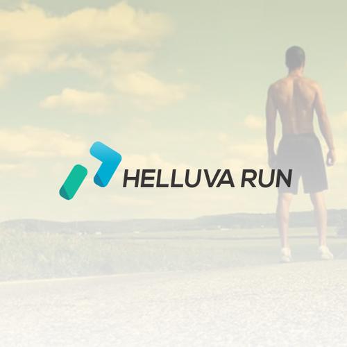 Helluva run logo