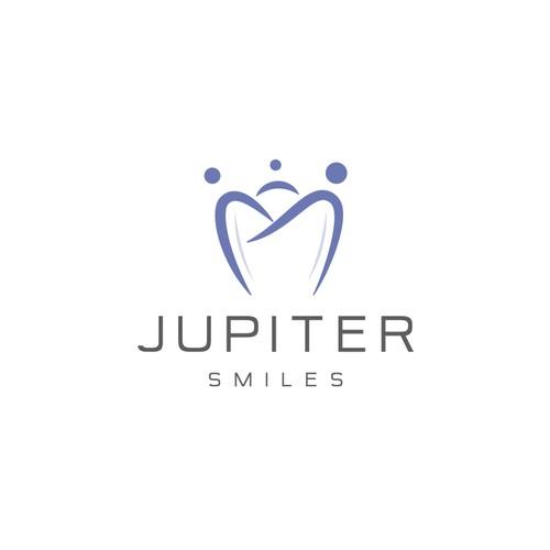 Bold logo for Jupiter Smiles