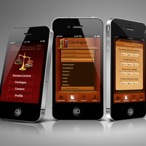 App Design: Legal Education