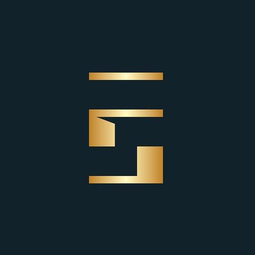 Abstract-minimal SF monogram
