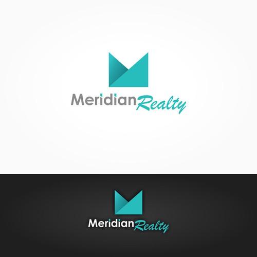 MeridianRealty logo design