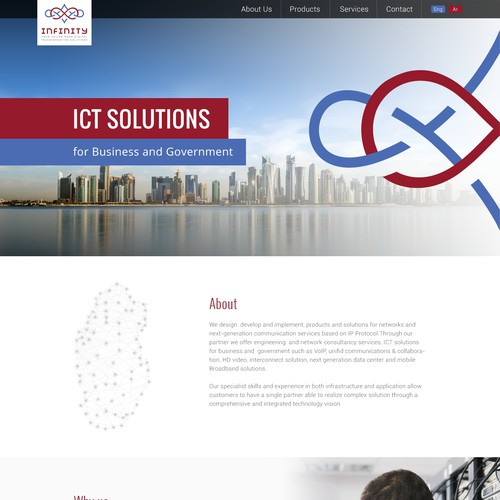 Technology company looking for a visually stimulating Wordpress theme design
