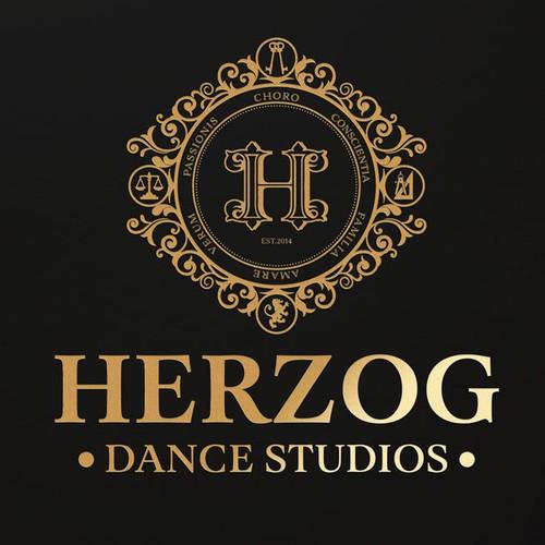 Create a luxury logo for Herzog Dance Studios