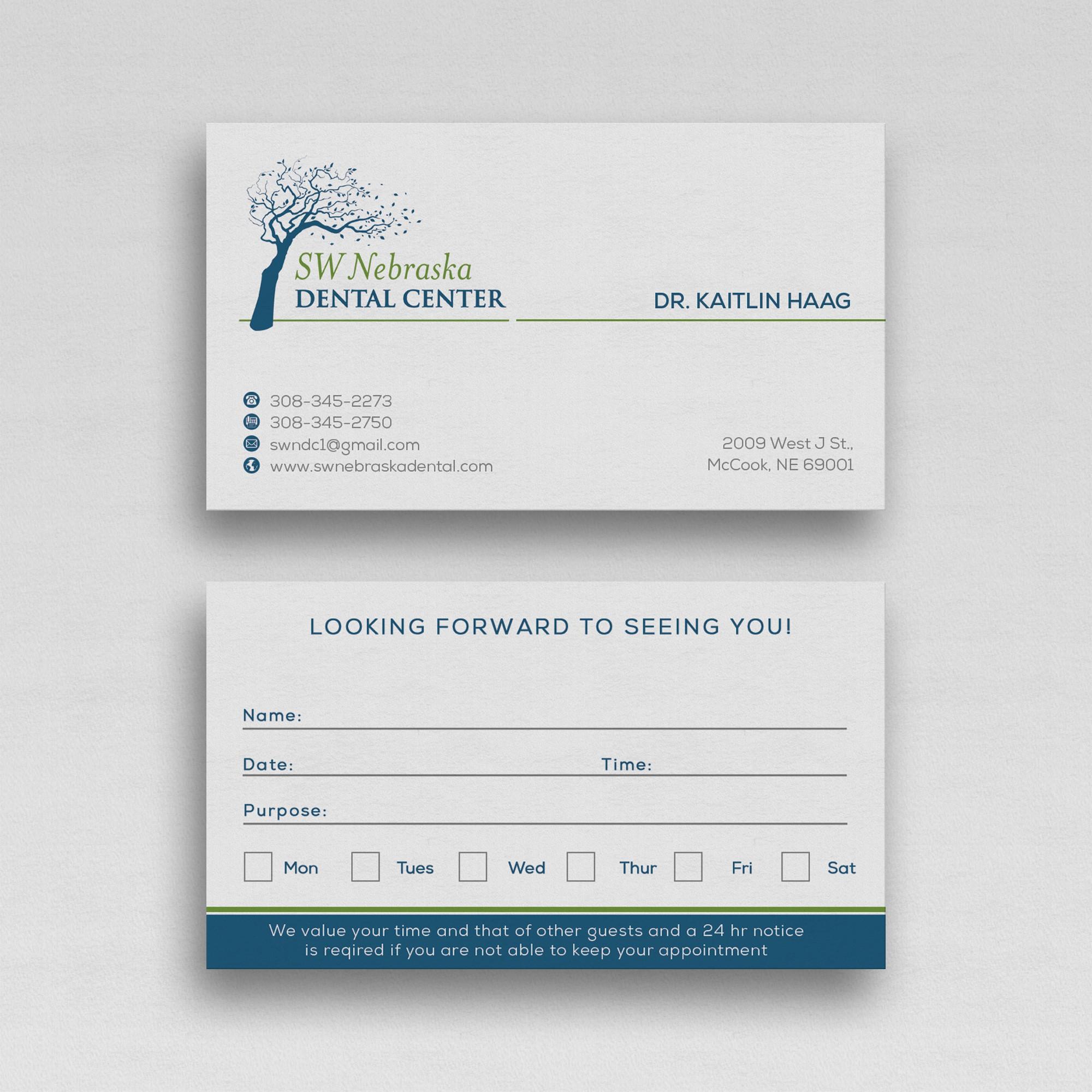 Letterhead and Envelopes for dental office