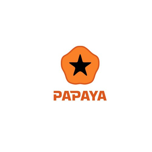 A unique logo for the tech startup Papaya Payments