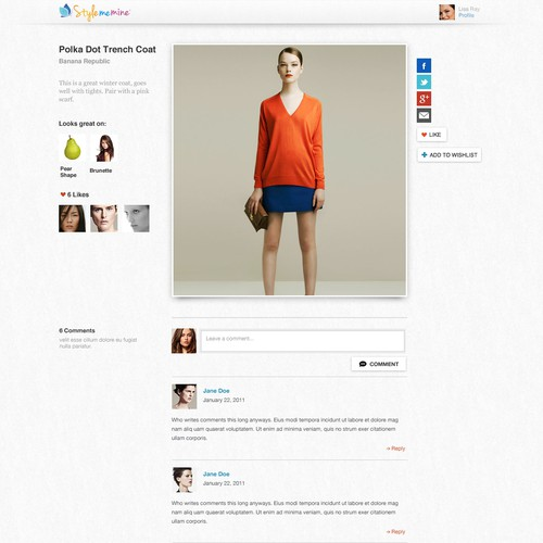 Design a cool, modern website for  Stylememine.com, 3 pages only & guaranteed!