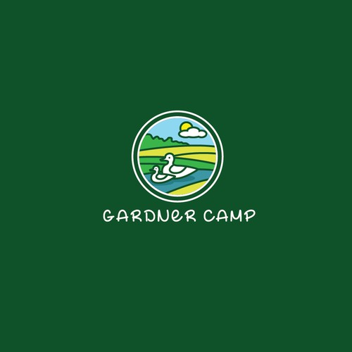 Create Kid-friendly Logo for Recreational Camp