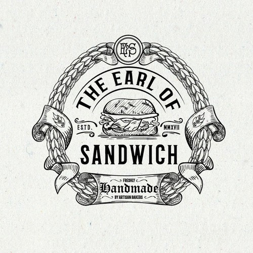Sophisticated logo for artisan sandwich outlet & bakery
