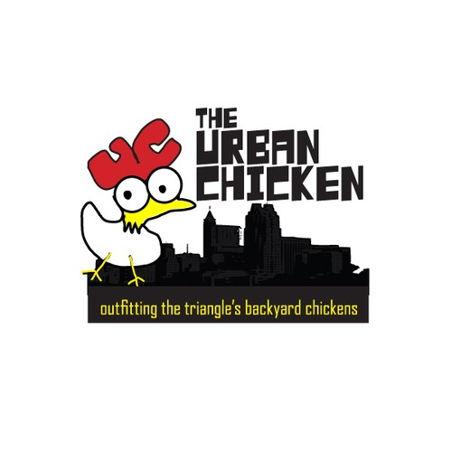 Create the next logo for The Urban Chicken